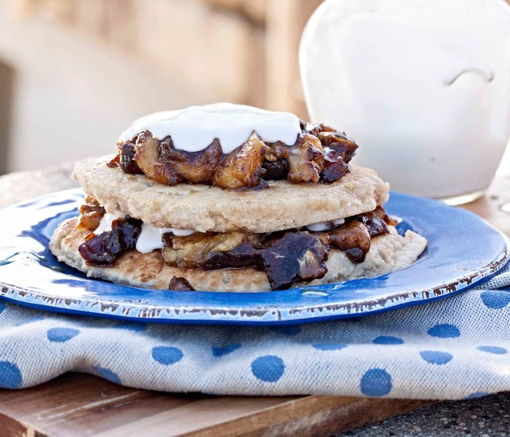 Fluffy Paleo Pancakes, quick and simple with the Luving Life Self Raising Flour.