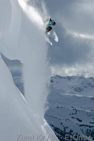 Gesims, Schi laufendes backcountry, Steve Ogle