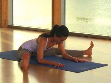 yoga chez soi pour tomber enceinte angle ouvert