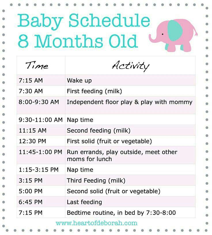 Best 25+ Baby schedule 4 months ideas on Pinterest   Weaning at 4 ...
