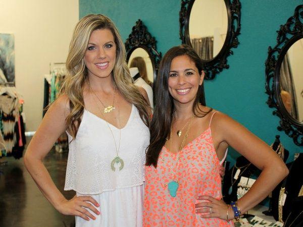 Kinsey Chavez & Shira Wasserman, chantilly shopping event in Dallas, TX - Gorge!