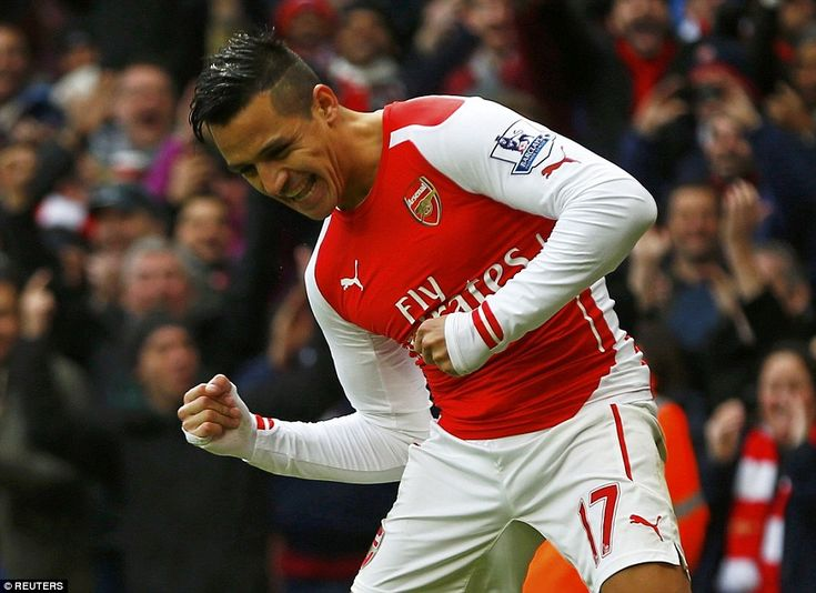 Sanchez now has 17 goals and nine assists to his name since signing for Arsenal in the sum...