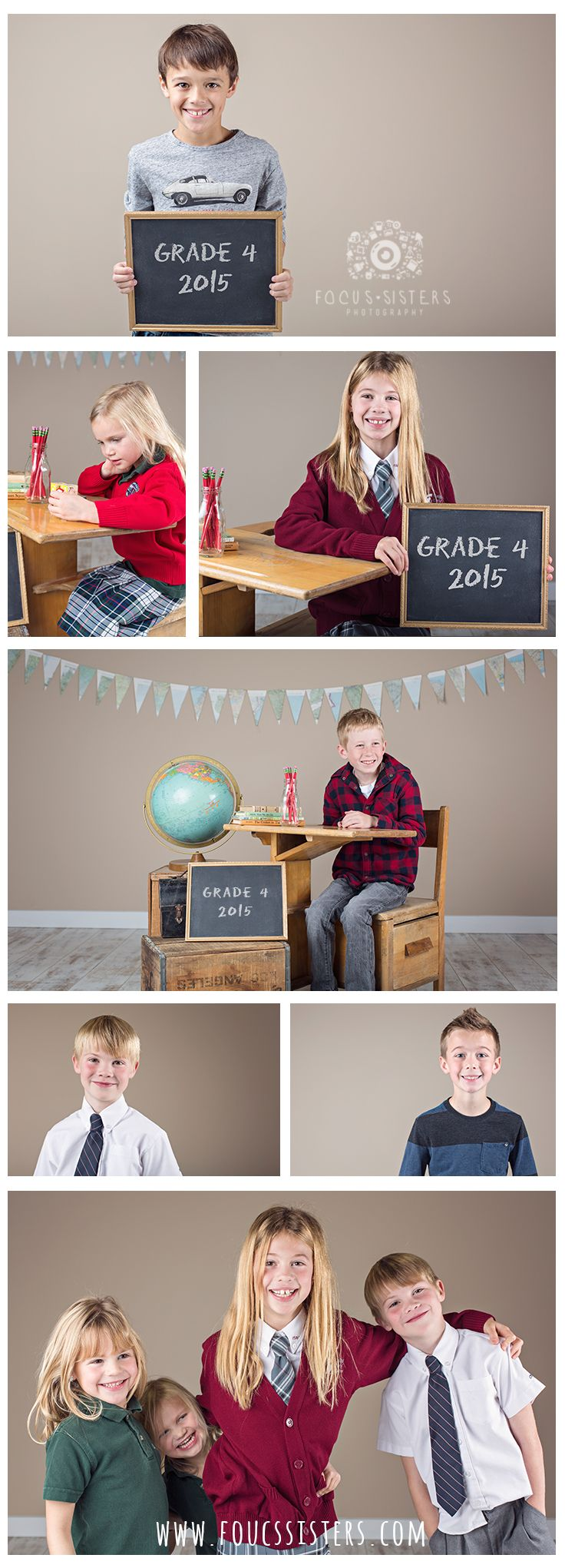 Back to School Mini Session | Child Photography | Calgary Alberta | Focus Sisters Photography
