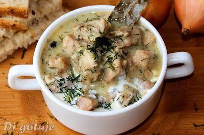 Di gotuje: Gulasz z żeberek wieprzowych w sosie śmietanowo-ko...