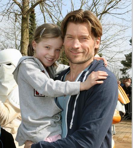 Nicolaj and his cute daughter