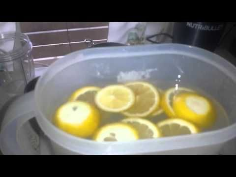 Fat Burning Drink With Lemon and Ginger |