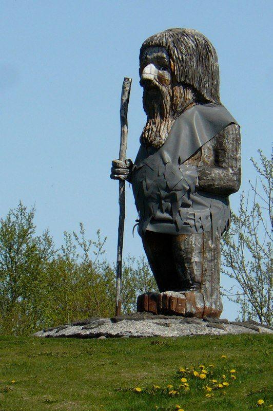 #Islande - Troll géant - Annie Vialard