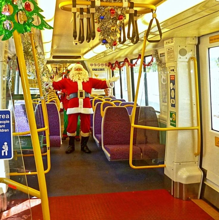 SANTA EXPRESS QUEENSLAND RAIL  Where is it: All South East city train lines!              What's it all about: A special train with some very special passengers!       How can I join in: Check Queensland Rail's website to find the details of which line the Santa Express will be running