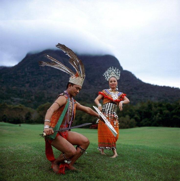 Traditional Sarawak dress