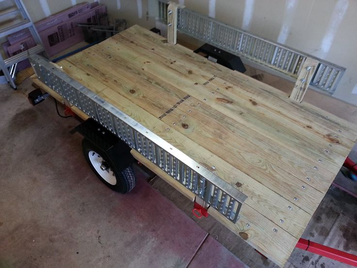 My Harbor Freight 4X8 utility trailer build out - ZX6R Forum