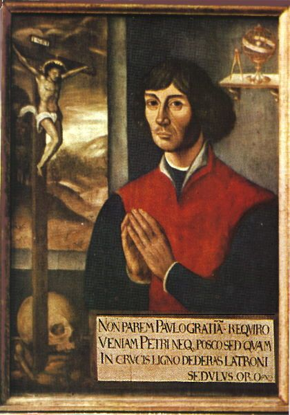 FOUNDER OF MODERN ASTRONOMY. Nicolaus Copernicus was a catholic cleric-scholar who, between 1508 and 1514, was the first to propose the Heliocentric Theory: that the earth revolved around the sun. Pope Clement VII (r. 1523–1534) had reacted favorably to a talk about Copernicus's theories, rewarding the speaker with a rare manuscript. . . . http://plato.stanford.edu/entries/copernicus/