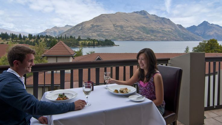 Magnificent view from Copthorne Lakefront Impressions Restaurant #hotel #travel #food #newzealand #queenstown