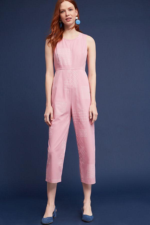 503b70de17c Rose Tile Jumpsuit by Dusen Dusen
