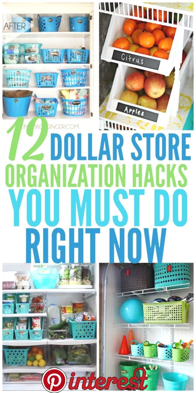 12 Dollar Store Organizing Hacks You Must Do Right…