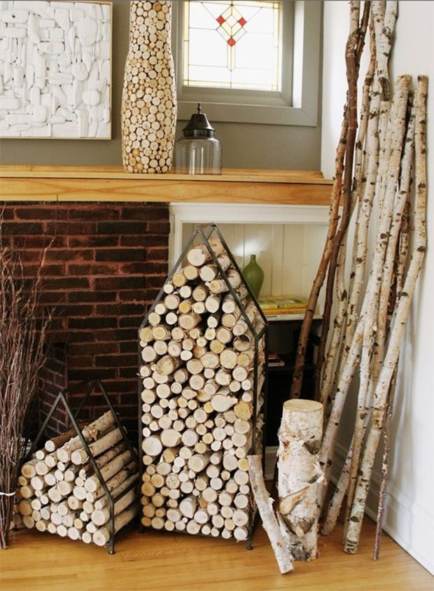 Les 25 meilleures id es de la cat gorie range buche sur - Range bois interieur ...