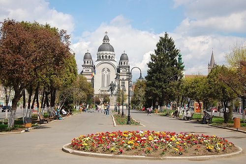 just a beautiful April day out in Targu Mures, Romania