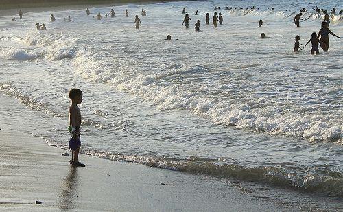 Miedo a las olas.