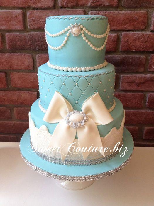 Gateau mariage Tiffany