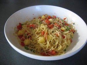 těstovinový salát po anglicku