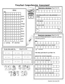 Preschool Teaching Strategies Gold Comprehensive Assessment