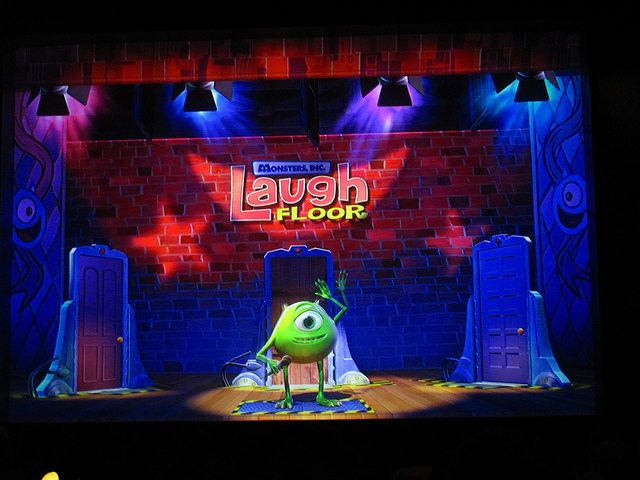 Mike wazowski encounters to the laugh floor - Google Search