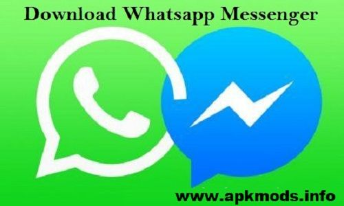 messenger whatsapp downloading