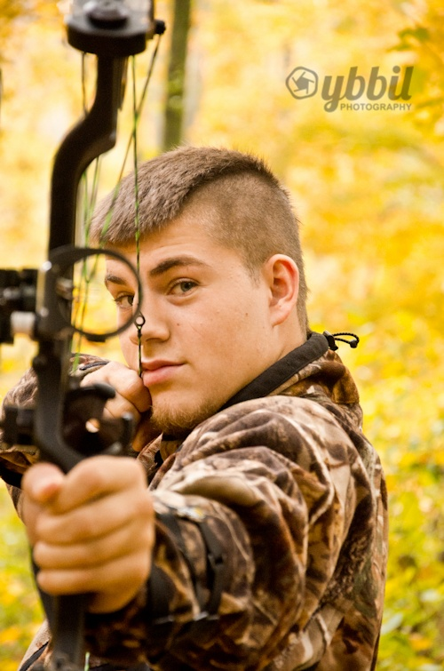 Dallas _ Bow Hunting Senior Photo  By: Ybbil Photography