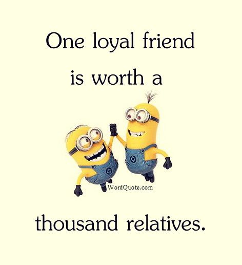 One Loyal Friend Is Worth