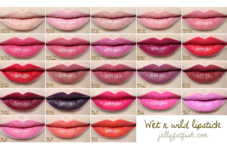 Wet N Wild Lipstick | JellyFatFish