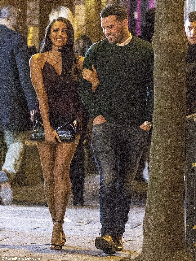 Perfect chemistry: There was even a laugh or two as the spirited pair stepped out on Frida...