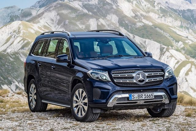 New And Used Cars: 2017 Mercedes GLS