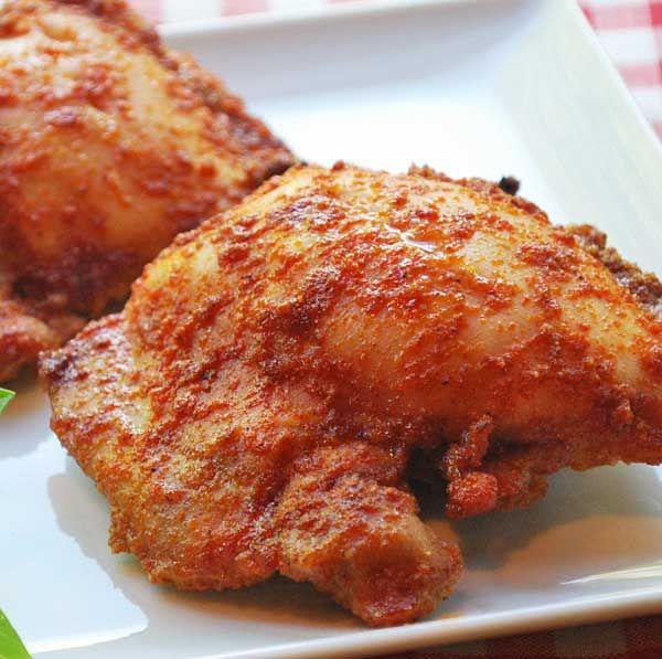 Spicy Boneless Skinless Baked Chicken Thighs