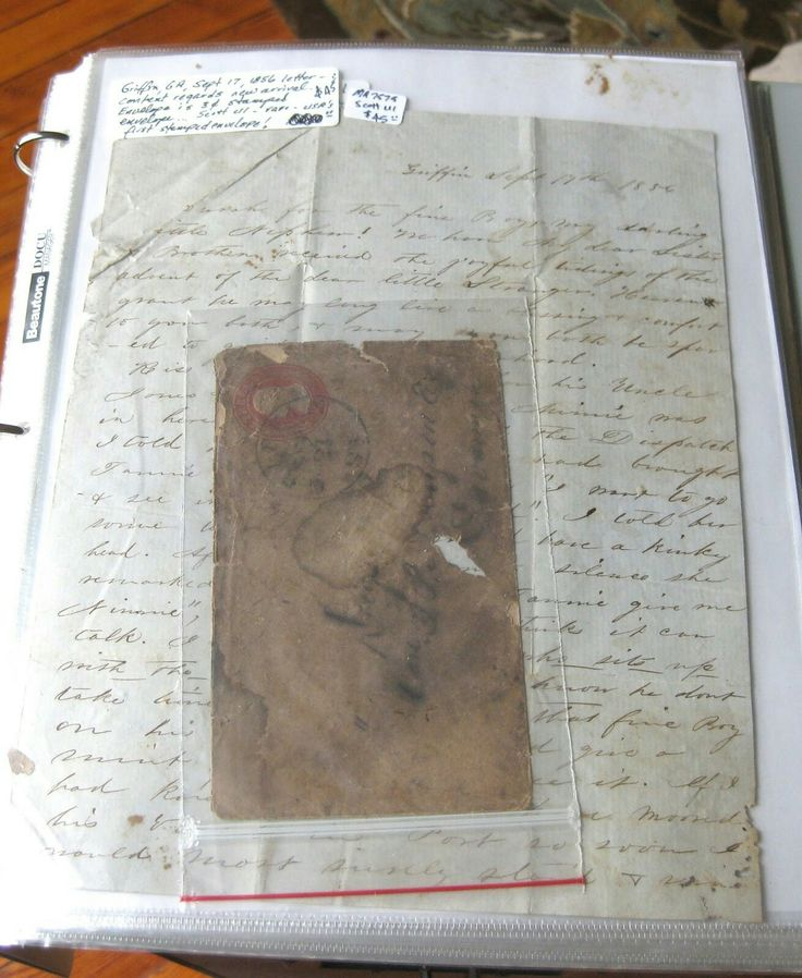 Civil War Handwritten Letter 56 best Praise