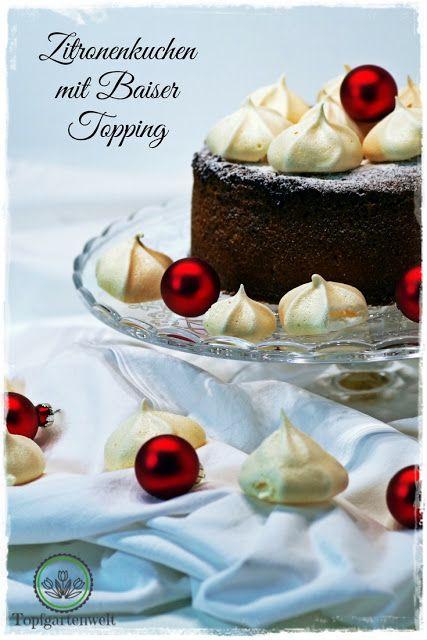 Zitronenkuchen mit Baiser Topping - fruchtig in den Heiligen Abend - Gartenblog Topfgartenwelt #Zitronenkuchen #Baiser #Topping #Weihnachten #fruchtig #Rezept #Zitrone