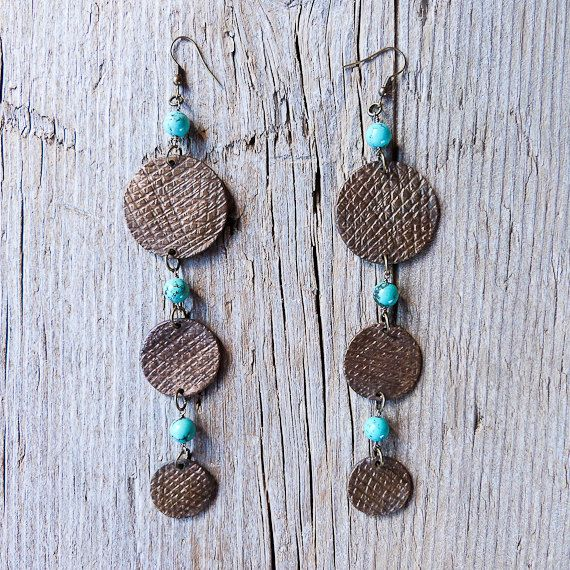 Handmade Hippie Boho earrings ᐅ MONTEREY FESTIVAL '67