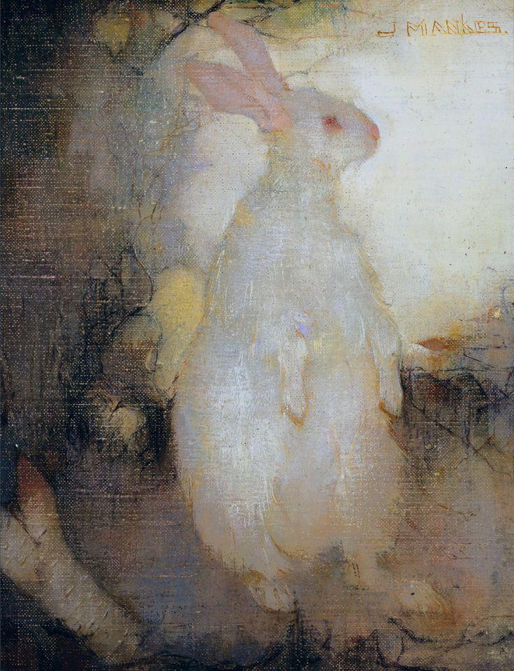 https://commons.wikimedia.org/wiki/File:White_rabbit,_standing,_by_Jan_Mankes.jpg - https://upload.wikimedia.org/wikipedia/commons/2/27/White_rabbit%2C_standing%2C_by_Jan_Mankes.jpg
