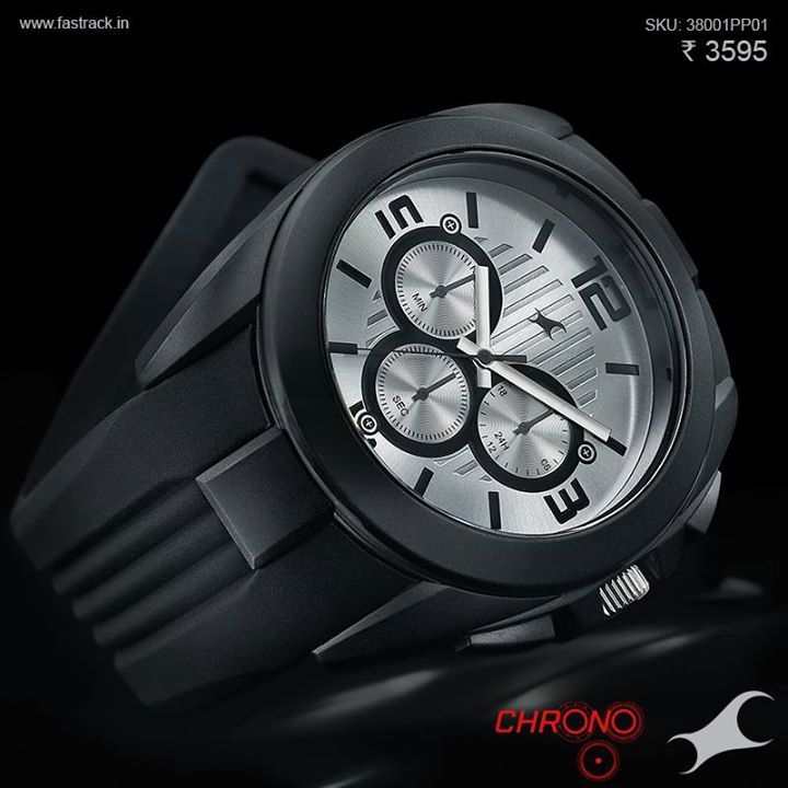 There are silver spoons, and then there is a #Chrono like this one. http://fastrack.in/chronograph/product/38001pp01