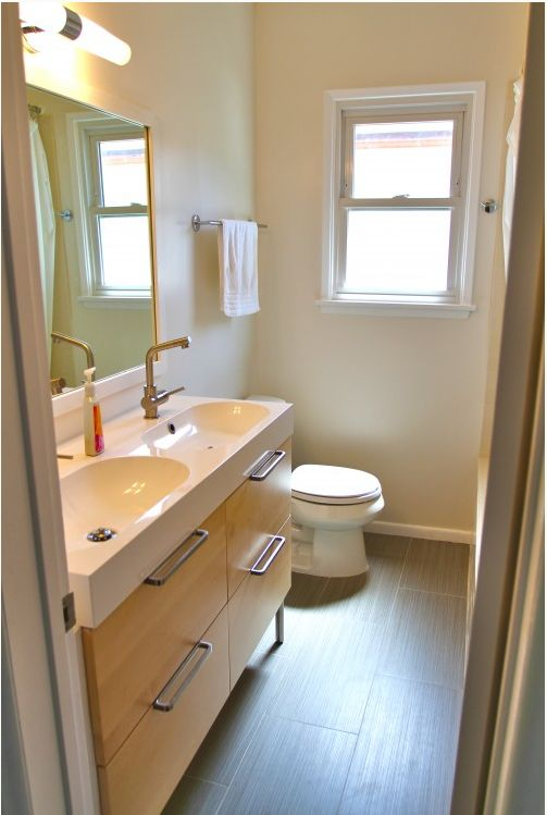 Ikea bathroom bathroom pinterest tile sinks and drawers - Ikea bathroom tiles ...