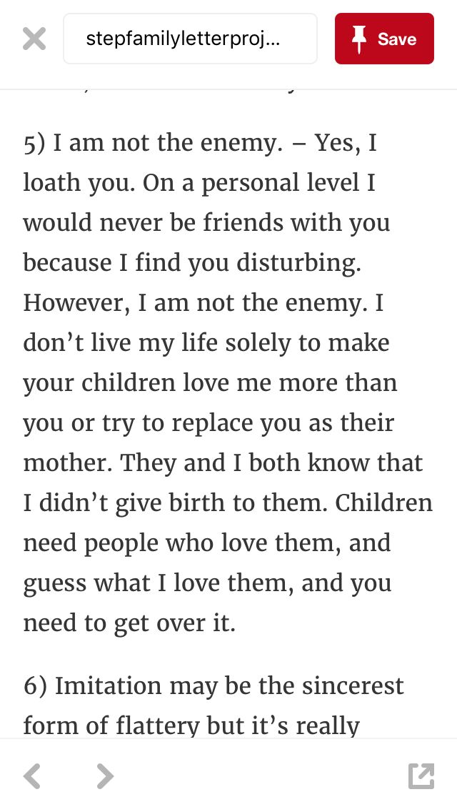 I am not their mother. I never claimed to be. I am here to love them like the amazing STEPmother that I am!
