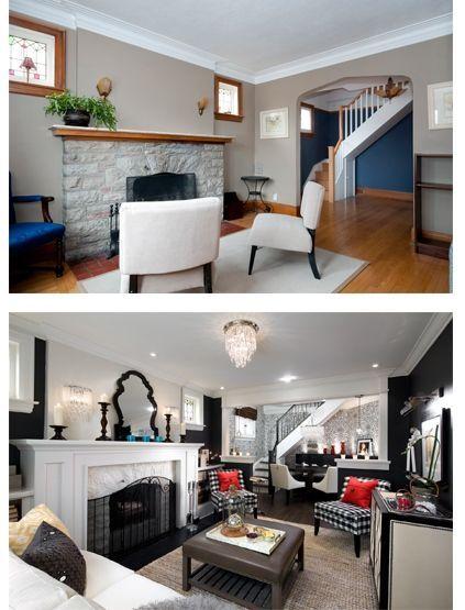 1000 images about ideas para renovar nuestro hogar on - Living dining room furniture arrangement ...