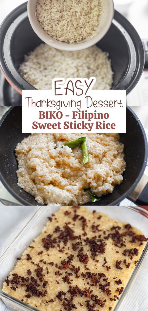 How to Make Biko in 2020 | Sweet sticky rice, Baked dishes ...