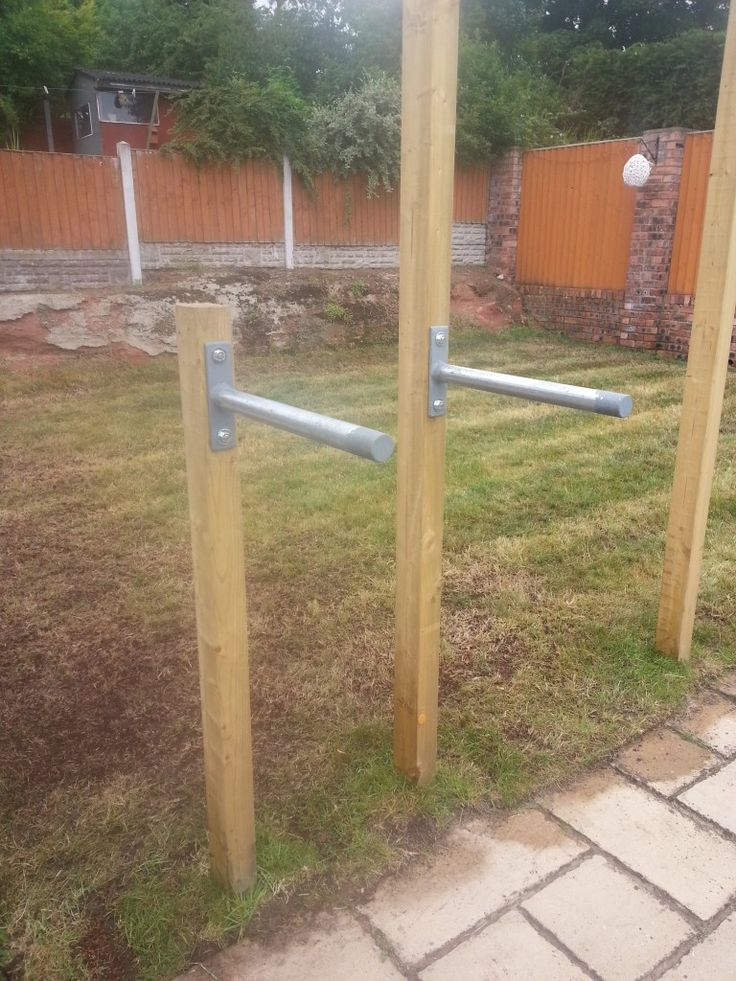 Chin Up Station | DIY Outdoor Chin Up & Dip Bar Wirral in ...