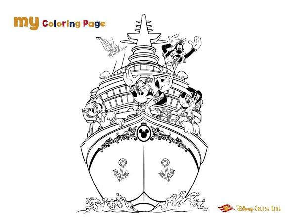Dcl Kids Book Google Drive Coloring Pages Disney Coloring Pages Disney Cruise