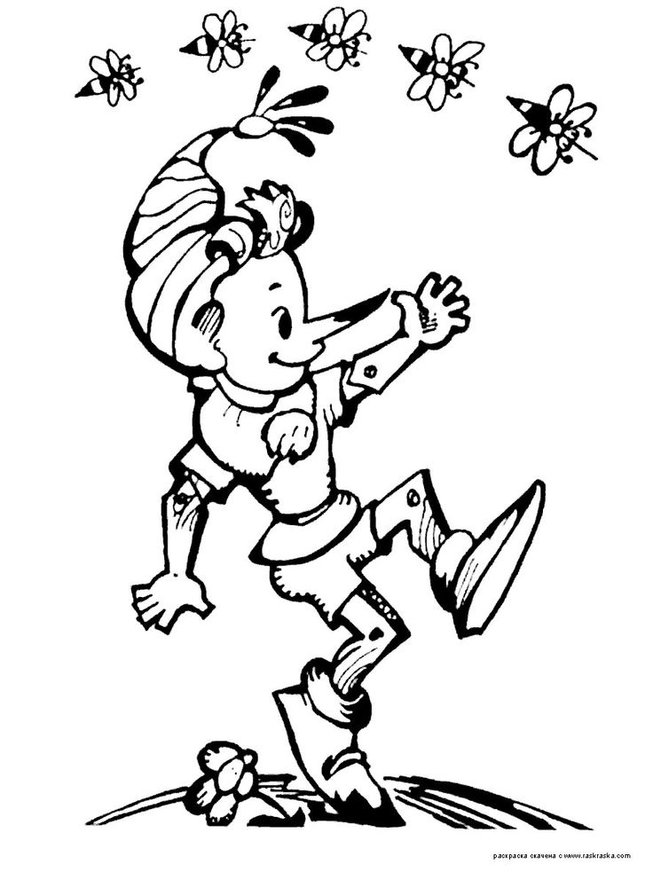 55 best pinnoccio images on Pinterest | Pinocchio, Coloring books ...