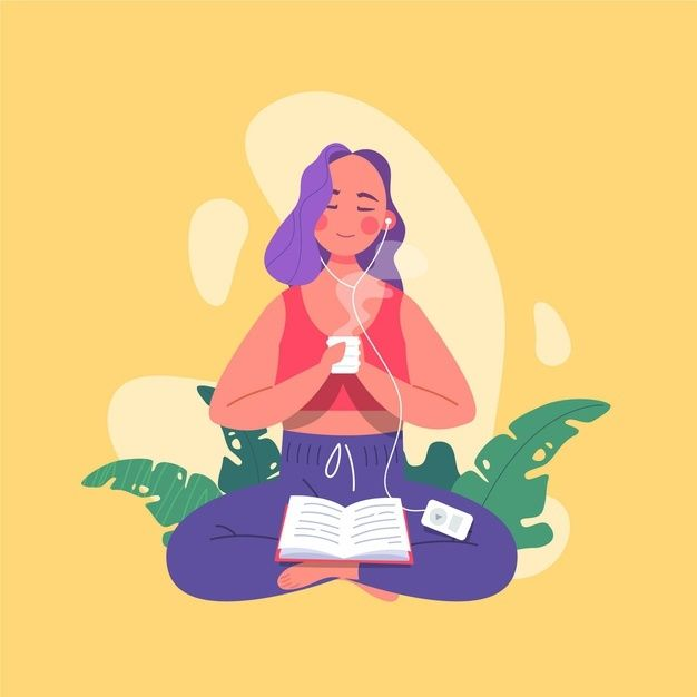 Self care concept Free Vector   Free Vector #Freepik #freevector #love #woman #medical #health Yoga Illustration, Character Illustration, Design Plano, Anime Galaxy, Icon Design, Plant Painting, Woman Drawing, Instagram Highlight Icons, Traditional Art