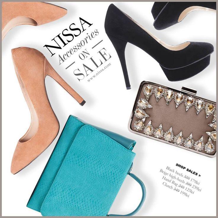 www.nissa.com  #nissa #accessories #sale #promotie #reducere #soldare #offer #pantofi #genti #plicuri #shoes #heels #handbag #bag #clutch