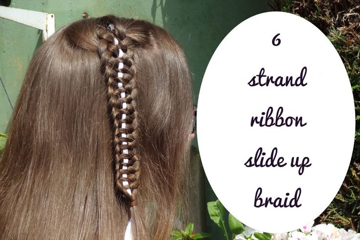 Learn how to do this DIY 6 strand ribbon slide up braid! Also subscribe to my channel!