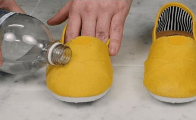 ΚΑΤΑΠΛΗΚΤΙΚΟ ΚΟΛΠΟ! Κάνετε ΑΔΙΑΒΡΟΧΑ τα παπούτσια σας με 2 ΑΠΛΑ βήματα!