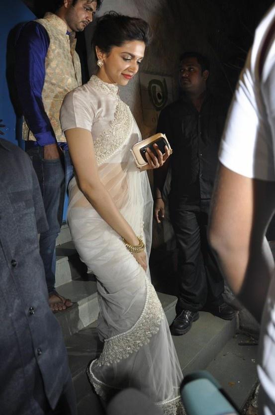 Deepika Padukone at Sanjay Leela Bhansali's Birthday Celebration.