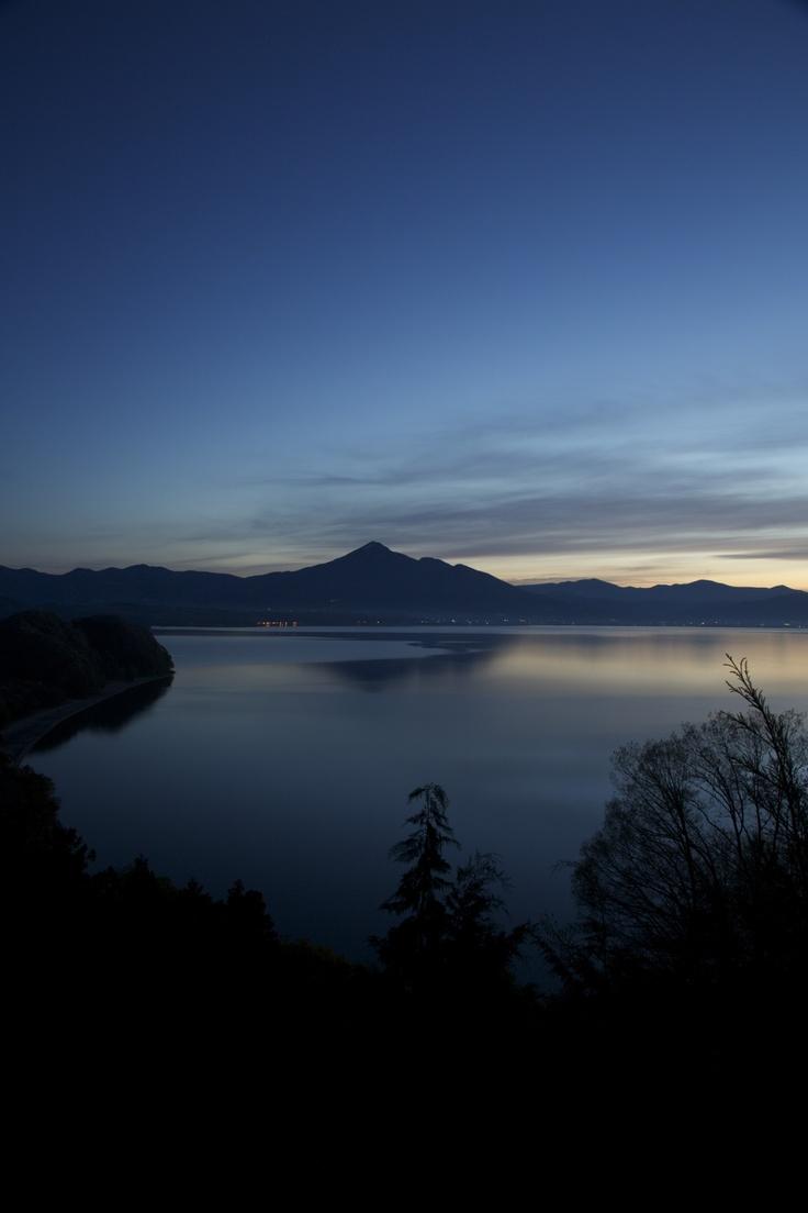 Transparent (Lake Inawashiro ,Mt. Bandai, Fukushima, JAPAN)